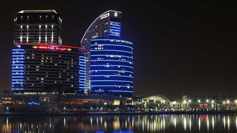 Intercontinental Hotel. Dubai, UAE.
